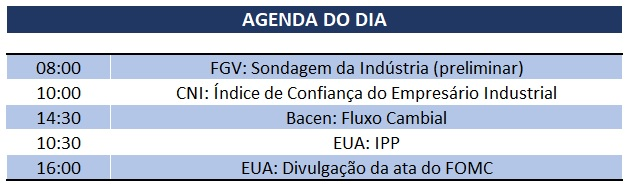 19.02.2020 Agenda do Dia