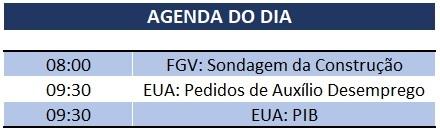 26.03.2020 Agenda do Dia